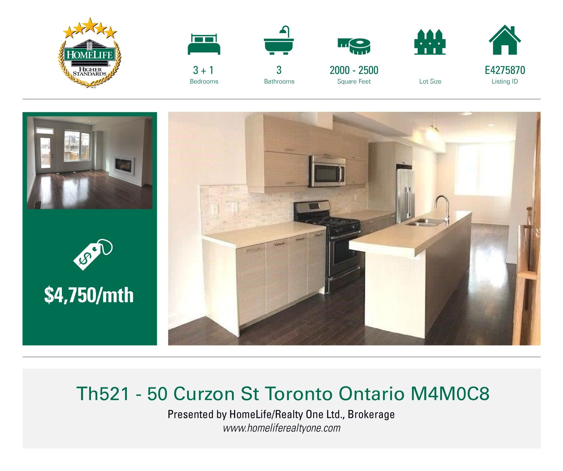 Rare Opportunity To Live In Brand New Townhouse In