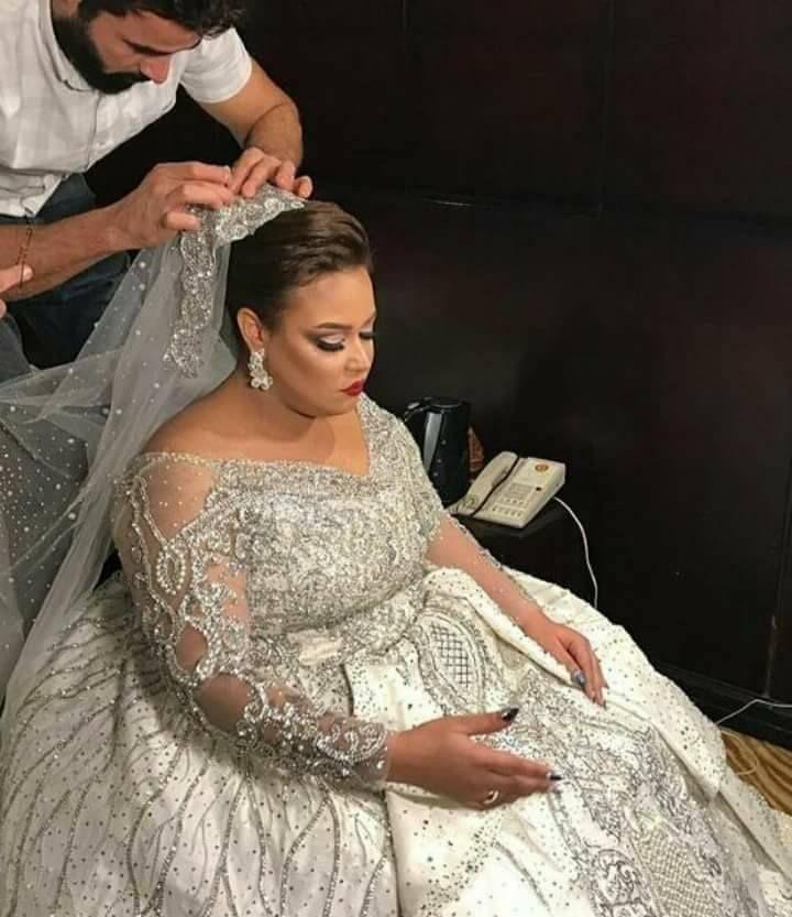 أجمل صور زفاف ويزو وشريف مع نجوم مسرح مصر Wedding Dresses Lace Formal Dresses Long Wedding Dresses