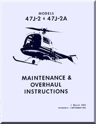 bell helicopter 47 j 2 j 2a overhaul and maintenance manual 1964 rh pinterest com bell 212 helicopter maintenance manual bell 47 helicopter maintenance manual