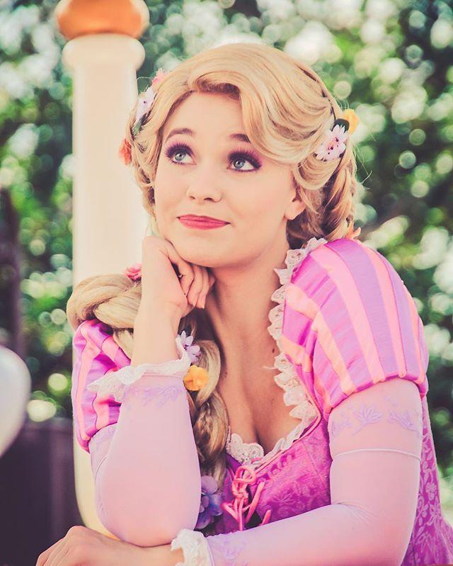 Instagram Photo By Walt Disney World Pictures Jul 18 2016 At 10 42pm Utc Disney Rapunzel Disney Princess Cosplay Disney World Princess