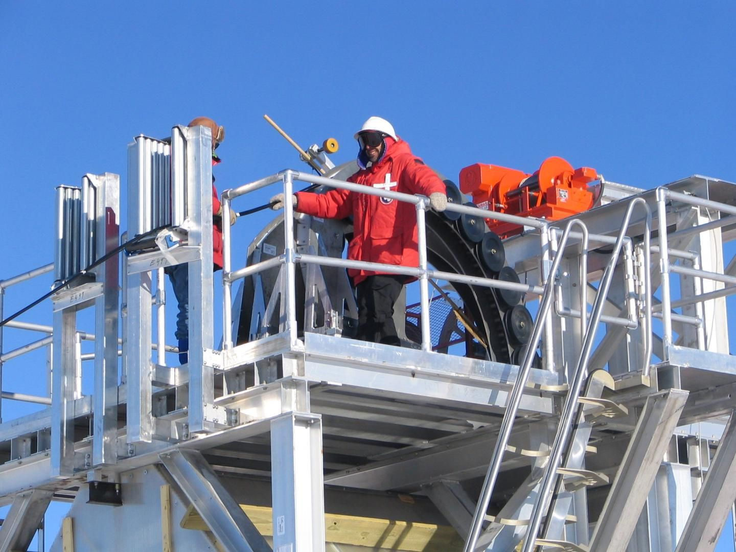 South pole shows early success at neutrino hunting with