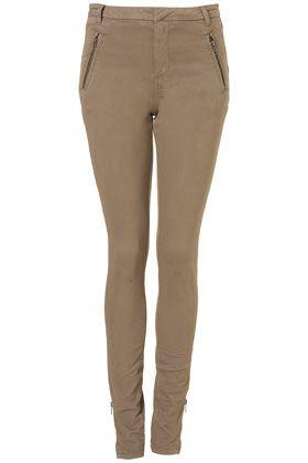 Tall Skinny Zip Pocket Trousers