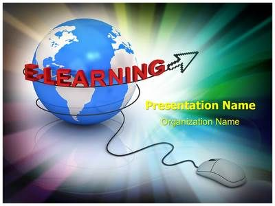 E Learning Globe Powerpoint Template Is One Of The Best Powerpoint