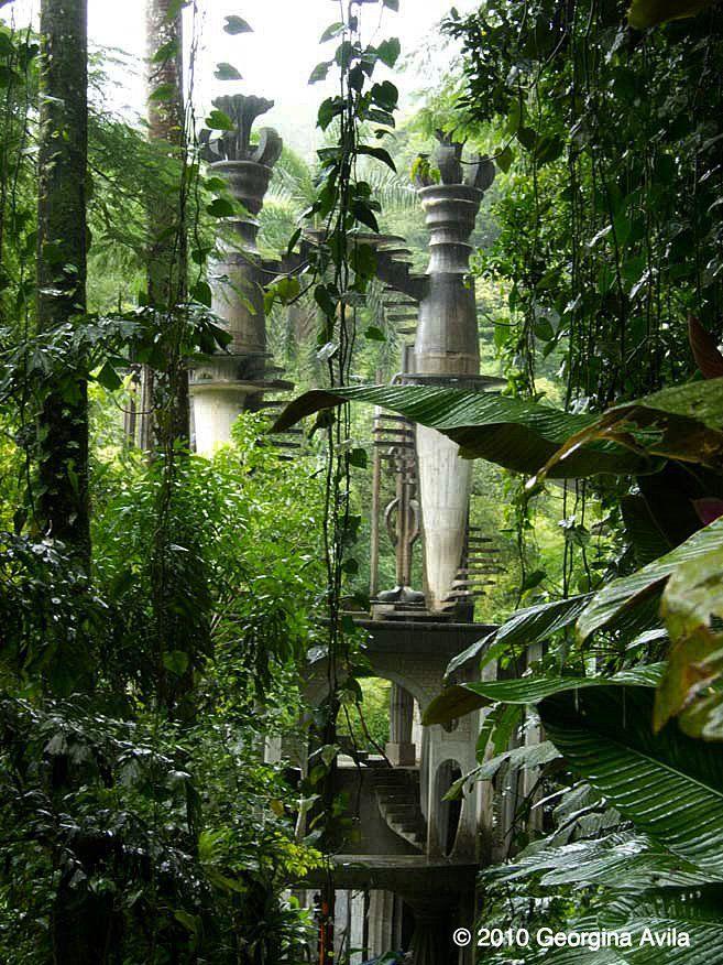 El castillo xilitla mexico mexico pinterest for Jardin xilitla