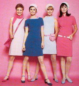 kledij jaren 60 vrouwen