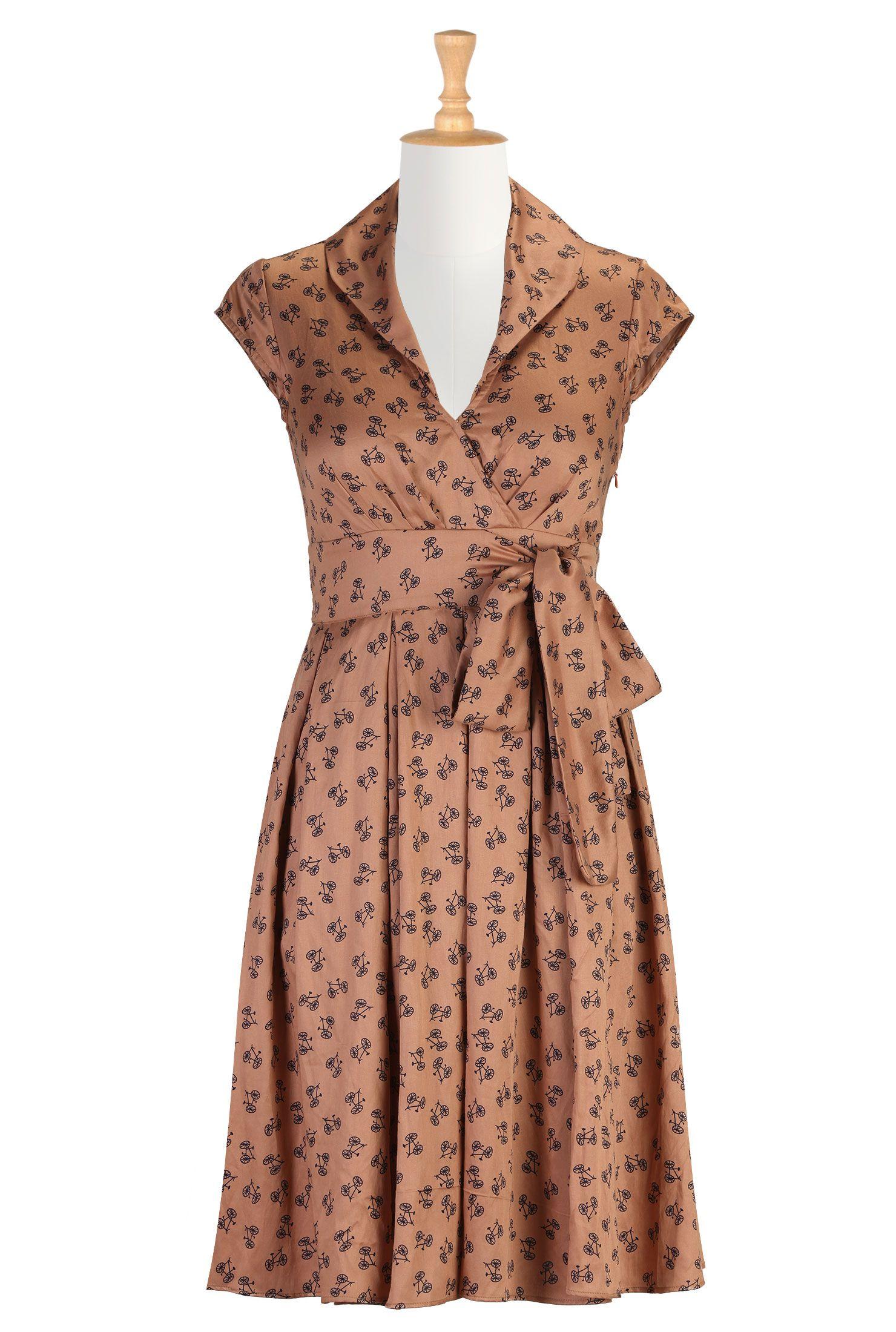 Casual Women Dress, Vintage Looking Dresses Shop women's designer ...
