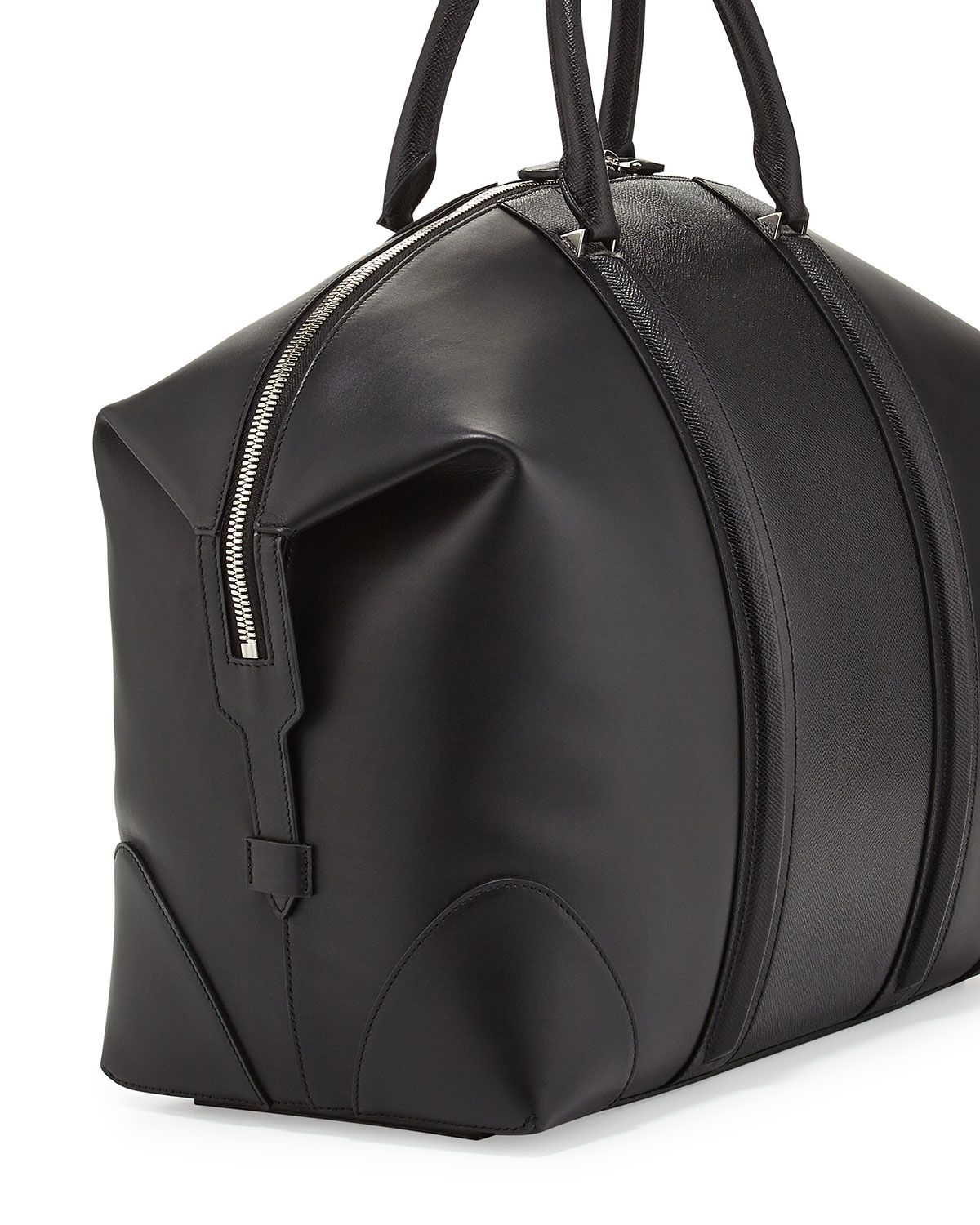 fb208699bcd6 Givenchy Black Leather Lc Duffle Bag for men - Google Search
