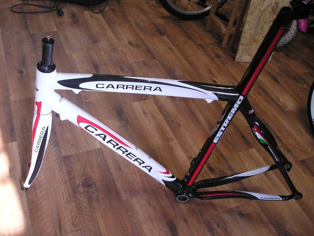 New Carrera Estremo Full Carbon Frame Italy Rare New Carrera