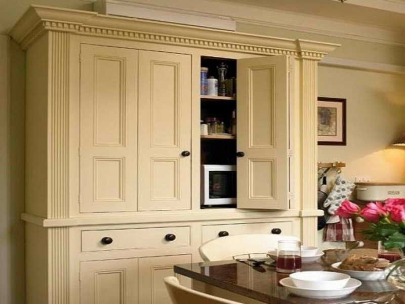 Delicieux Pantry Cabinets Free Standing | The Terrific Pics Above, Is Section Of Free  Standing Pantry