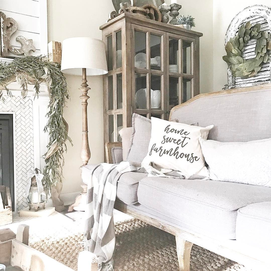 Home Sweet Farmhouse Living Room See This Instagram Photo By Plumprettydecoranddesign