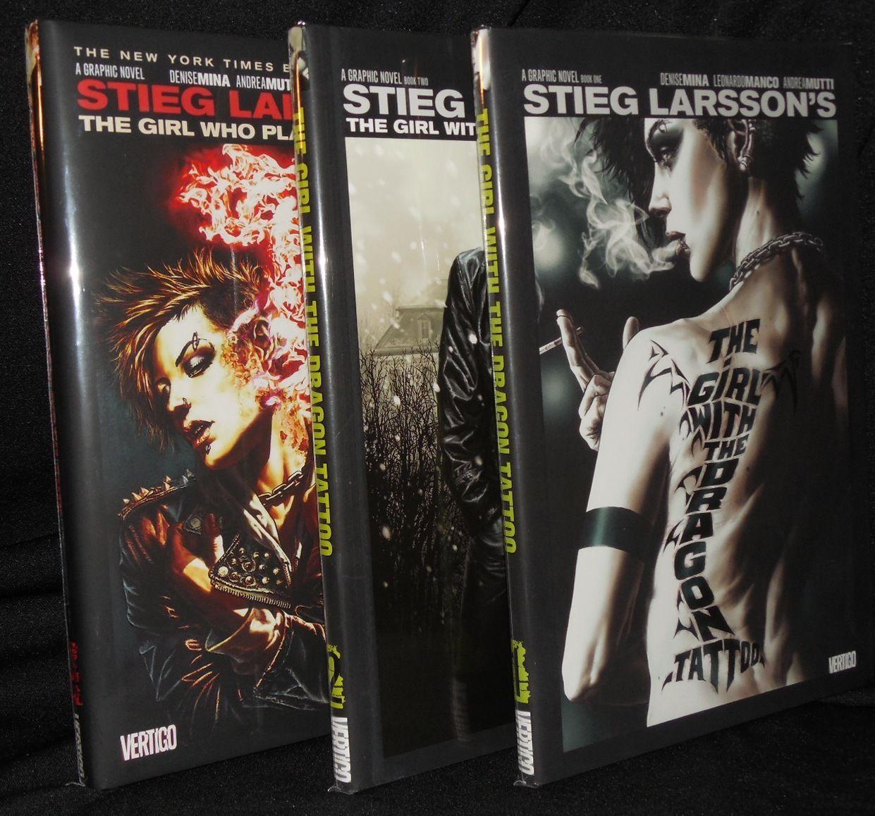 «Millenium»  Stieg Larsson grafic novel- vertigo comics