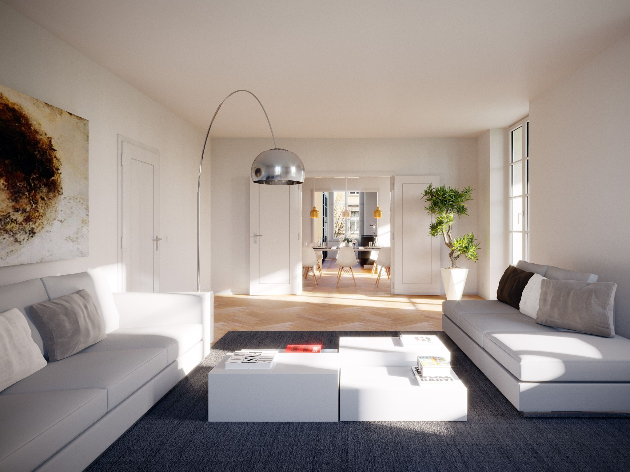 Umbau Und Sanierung Plattenstrasse In 8032 Zurich Tk Architekten Visualisierungen Architron Wohnung 2 Zimmer Wohnung Wohnung Mieten