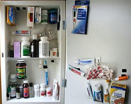Rv Organization Accessories Medicine Cabinet Rv Storage Tips  Travelinteresting Placescamping
