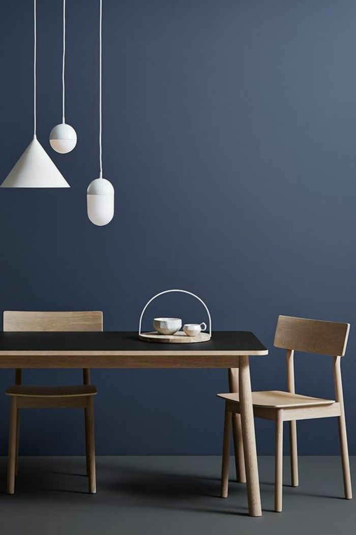 ▷ 1001+ Idées pour aménager ses espaces en couleur bleu gris + les - couleur des portes interieur