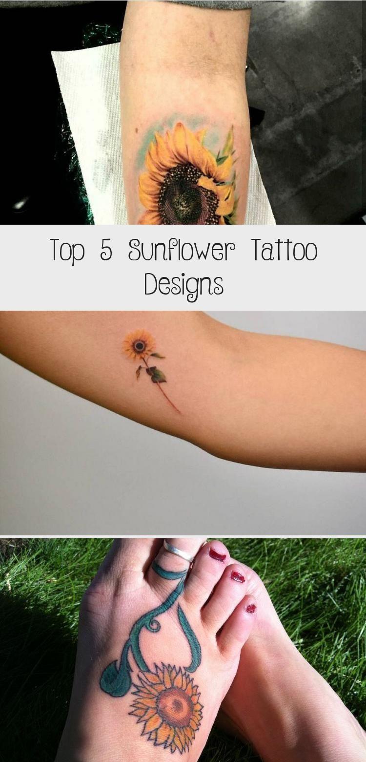 Top 5 Sunflower Tattoo Designs - Tattoos in 2020 ...