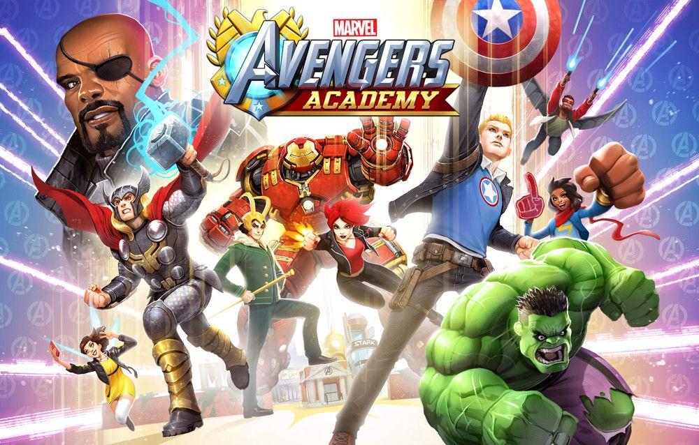 Avengers Academy 2.0 Key Art, David Nakayama on ArtStation