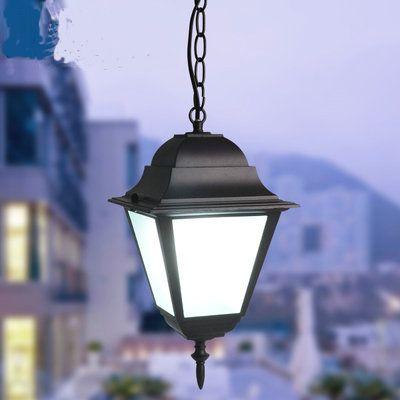 Outdoor Light Waterproof Outdoor Led Pendant Lights Retro Loft