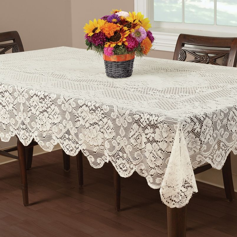 Find More Table Cloth Information About Elegant White Retangle Lace  Tablecloths Or Round Lace Table Cover