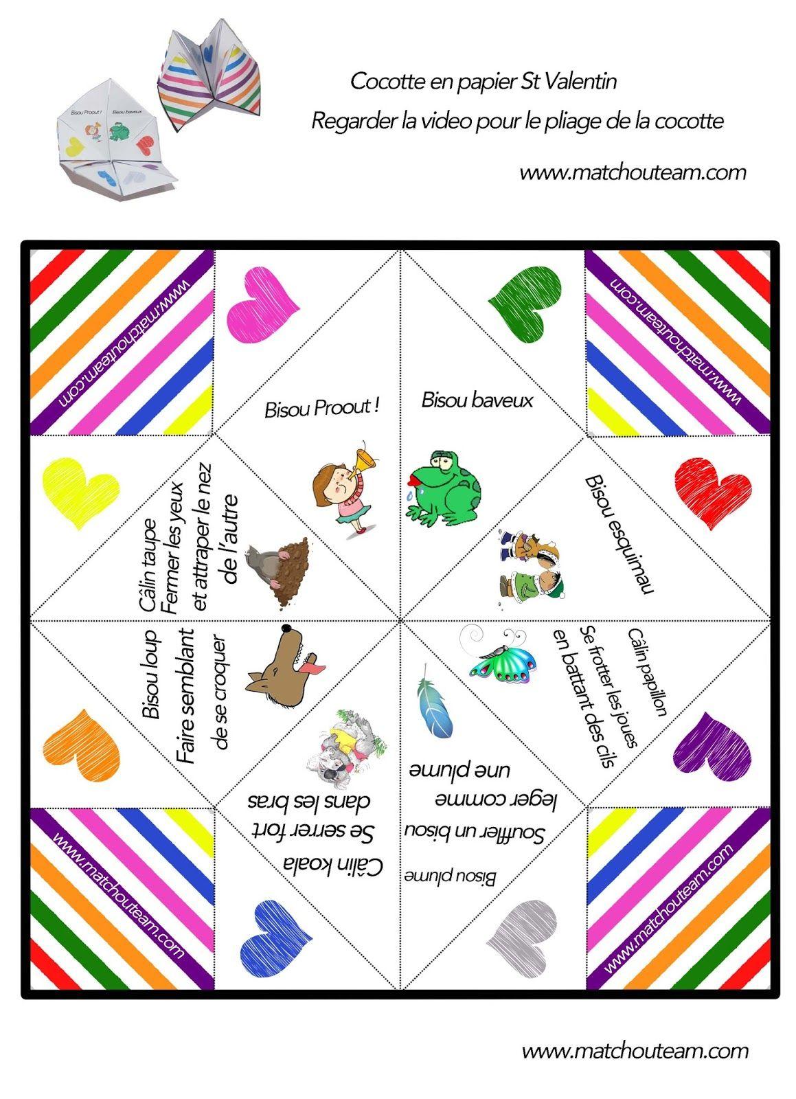 cocotte en papier et ses d fis sp cial amoureux origami for kids pinterest. Black Bedroom Furniture Sets. Home Design Ideas