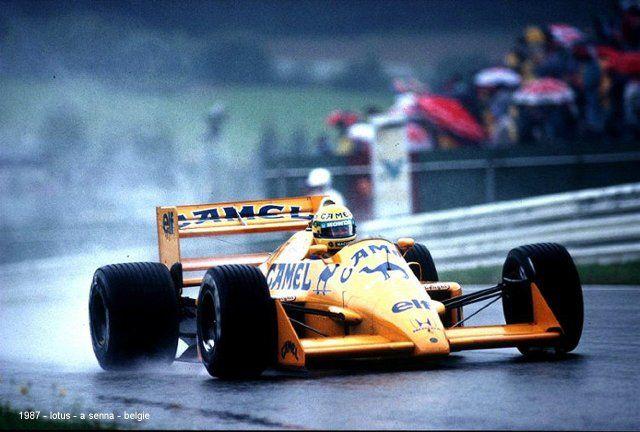 Lotus 99T-1987 Ayrton Senna - Belgium GP
