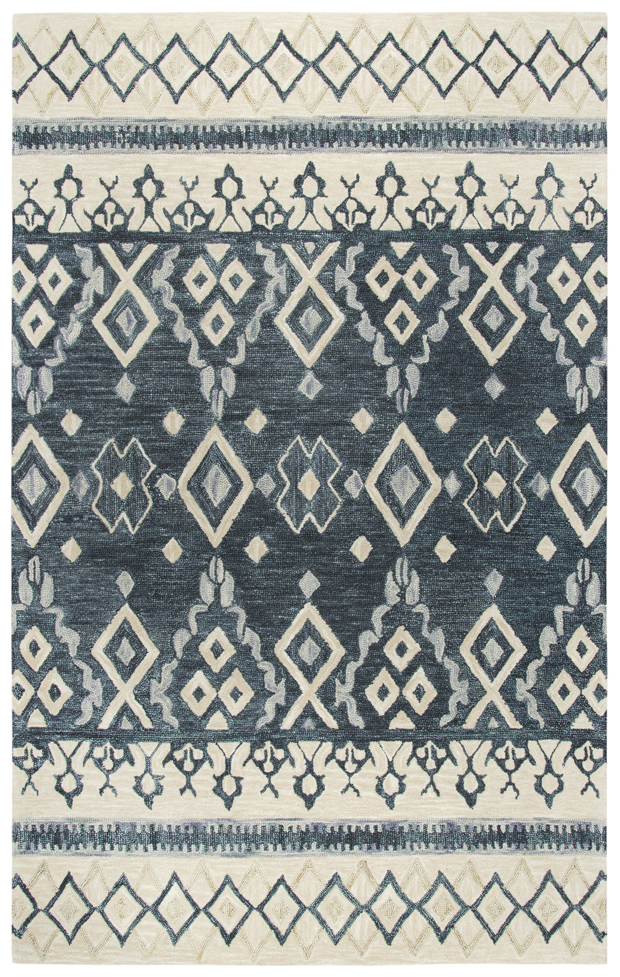 e0d2e8e6063 Rizzy Home Opulent OU936A Natural Tribal Motif Area Rug | Products ...