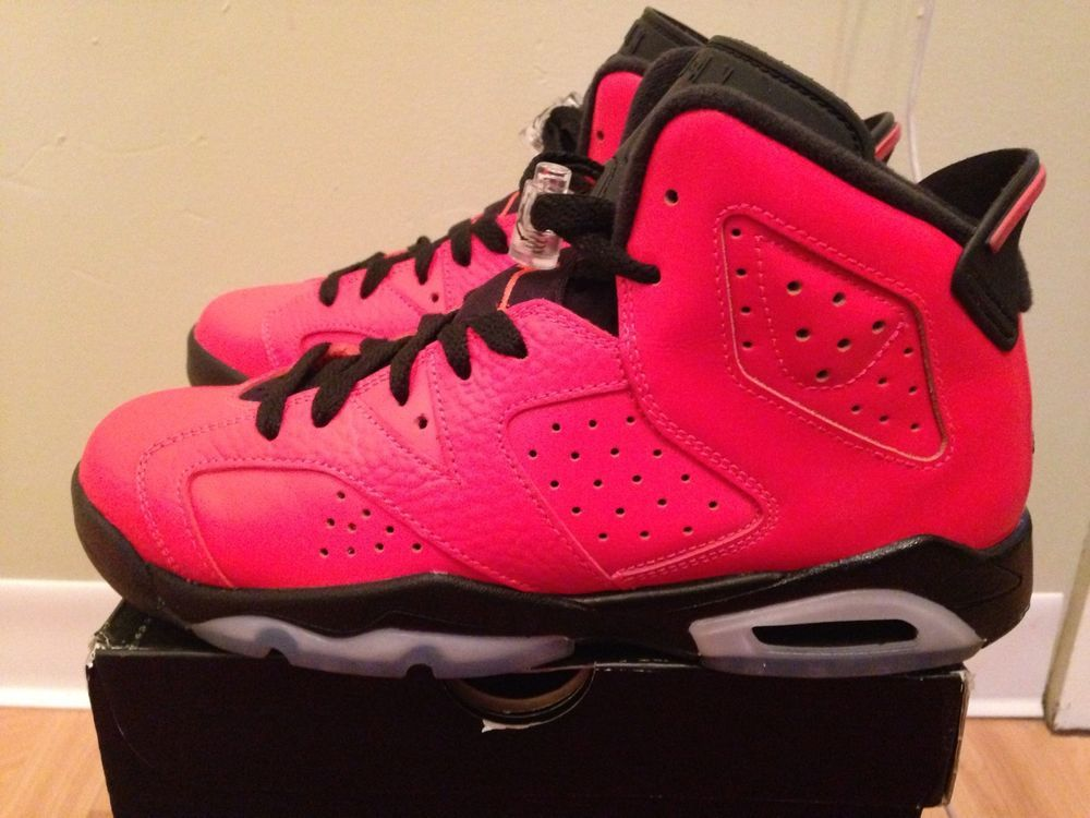 new style 71f31 c5e4d Air Jordan 6 VI Retro Infrared 23's Bordeaux Size 5.5y Yeezy ...