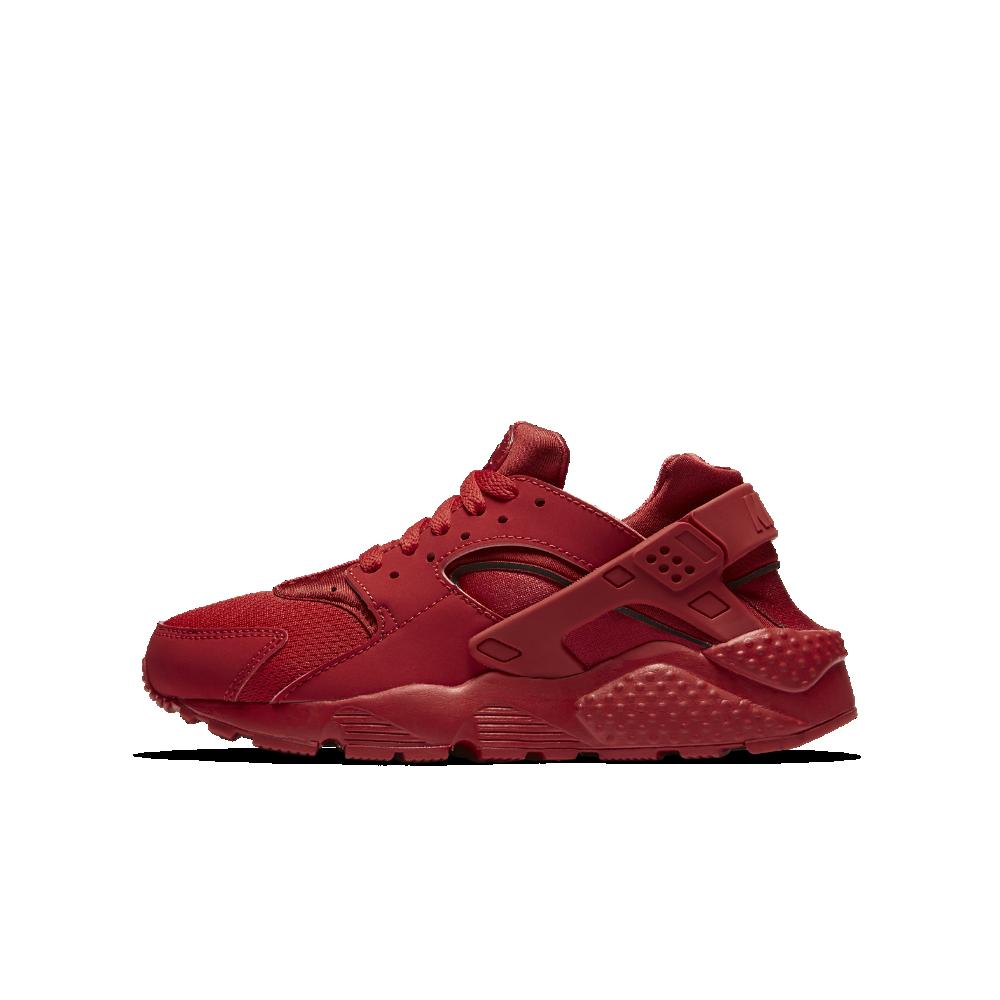 6b906636e6e2f7 Nike Huarache Big Kids  Shoe Size 4.5Y (Red)