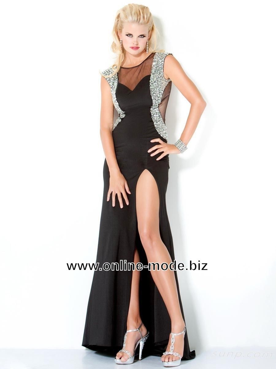 Party Kleid Abendkleid in Schwarz | Schwarze Kleider | Traumhafte ...