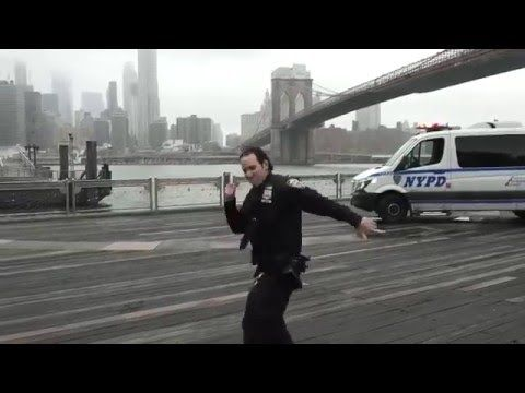 NYPD Running Man Challenge - YouTube #runningmanchallange