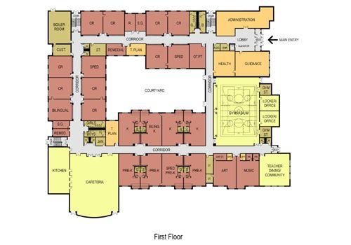 elementary school floor plans | new abraham lincoln elementary