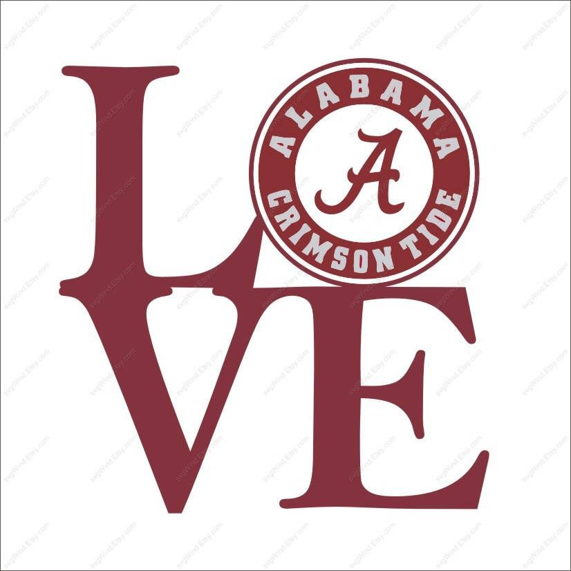 Alabama Crimson Tide Logo Font Awesome Graphic Library