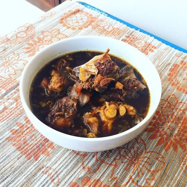 Cara Praktis Membuat Resep Rawon Iga Surabaya Super Lezat Resep Makanan Dan Minuman Resep Masakan Indonesia