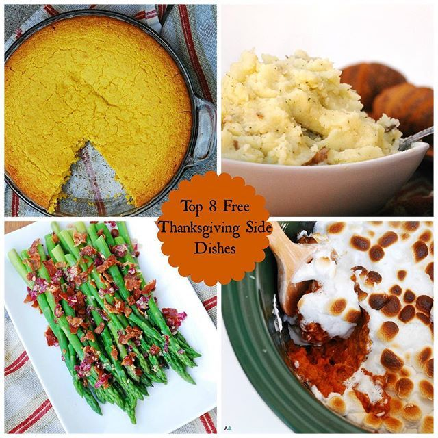 Side dishes can be hard to figure out. A turkey and then...? Especially when you have #foodallergies. I'm sharing 4 favorite side dishes that are all free of the top 8 allergens. And, 3 of the 4 have vegan options! Go to allergyawesomeness.com and then use the search bar on the right to find 'em. Clockwise: THE best top-8-free cornbread; garlic and parsley mashed potatoes; slow cooker sweet potato casserole; and asparagus with a bacon and red onion vinaigrette. Whatever you serve may you…