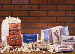 Custom Printed Microwave Popcorn Bags - Made in USA