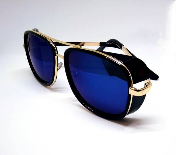 7995a9d61 Modelo de óculos de sol usado pelo personagem Tony Stark no filme homem de  ferro 3