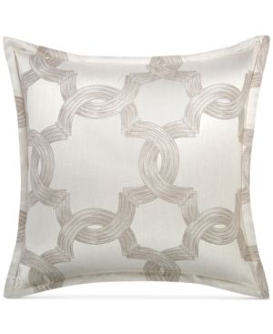 Hotel Collection Ironwork European Sham, Only at Macy's  - Silver