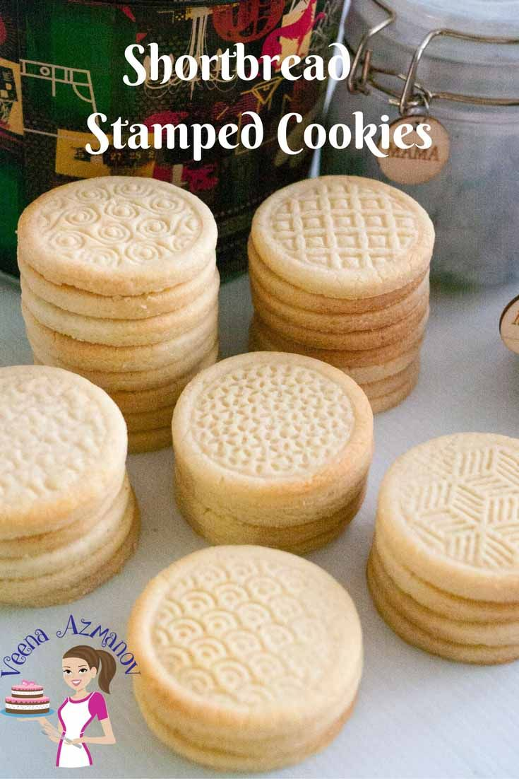 Make perfect shortbread stamped cookies every single time with this shortbread cookies that just melt in the mouth