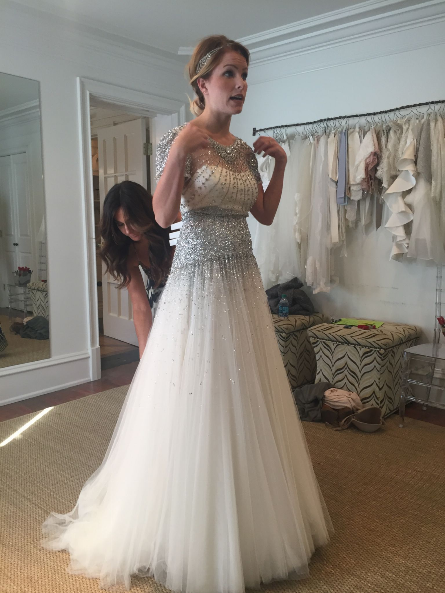 Jenny Packham Dixie Wedding Dress New Size 10 3 500