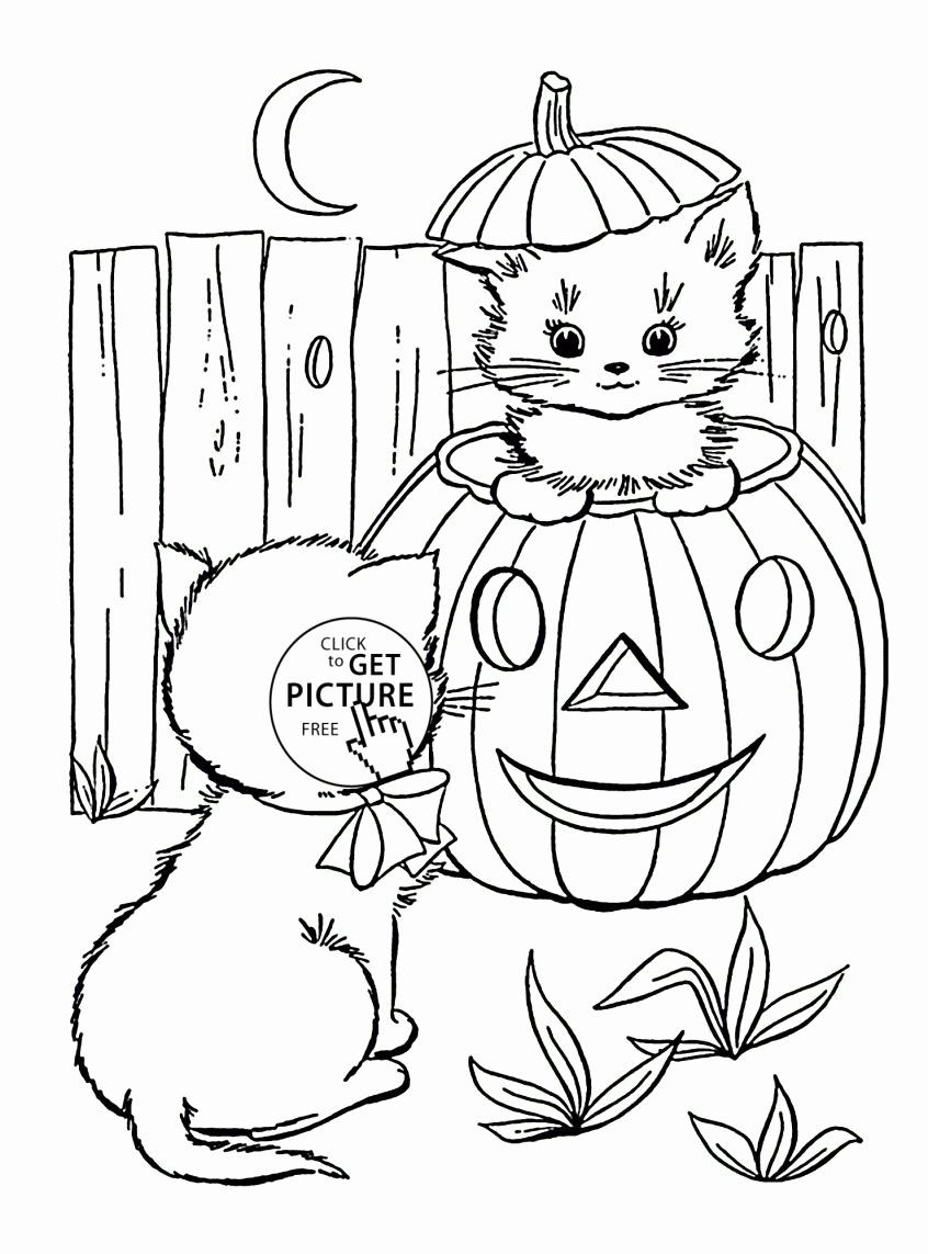Free Disney Christmas Coloring Pages Awesome Coloring Halloween Coloring Pages Printable Disney Cat