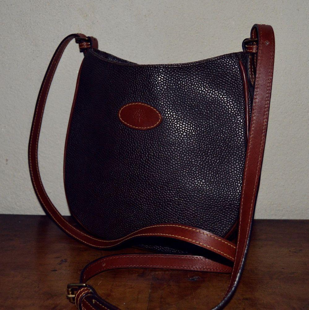 708f3fbaa881 Genuine Mulberry Vintage Leather Handbag