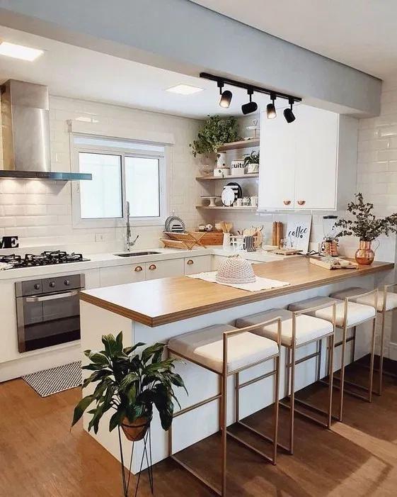 Photo of 43 design per la cucina per idee di cucina in studio di piccoli spazi 4