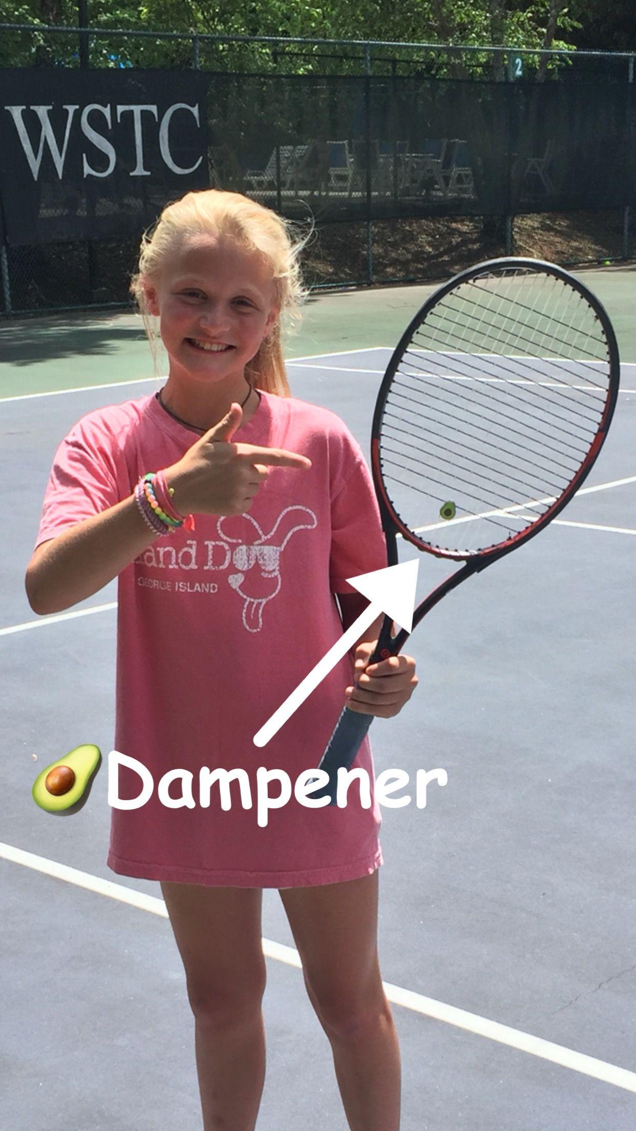 Avocado Tennis Racquet Vibration Dampener Tennis Gifts Tennis Racquet Tennis