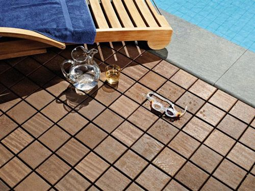 Ikea sells snap in wood flooring just like this perfect for the wooden modular flooring for outdoor areas larideck by bellotti digsdigs ppazfo