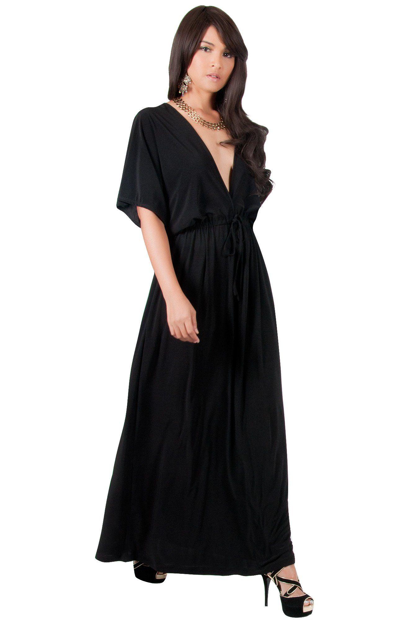 a0948309526a Maternity Outfits - baggy maternity maxi dress   KOH KOH Plus Size Womens  Long Sexy Kimono