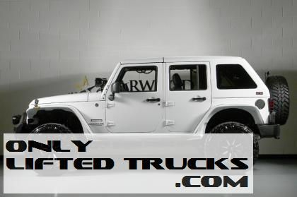 Lifted 2013 Jeep Wrangler Unlimited by Starwood Custom