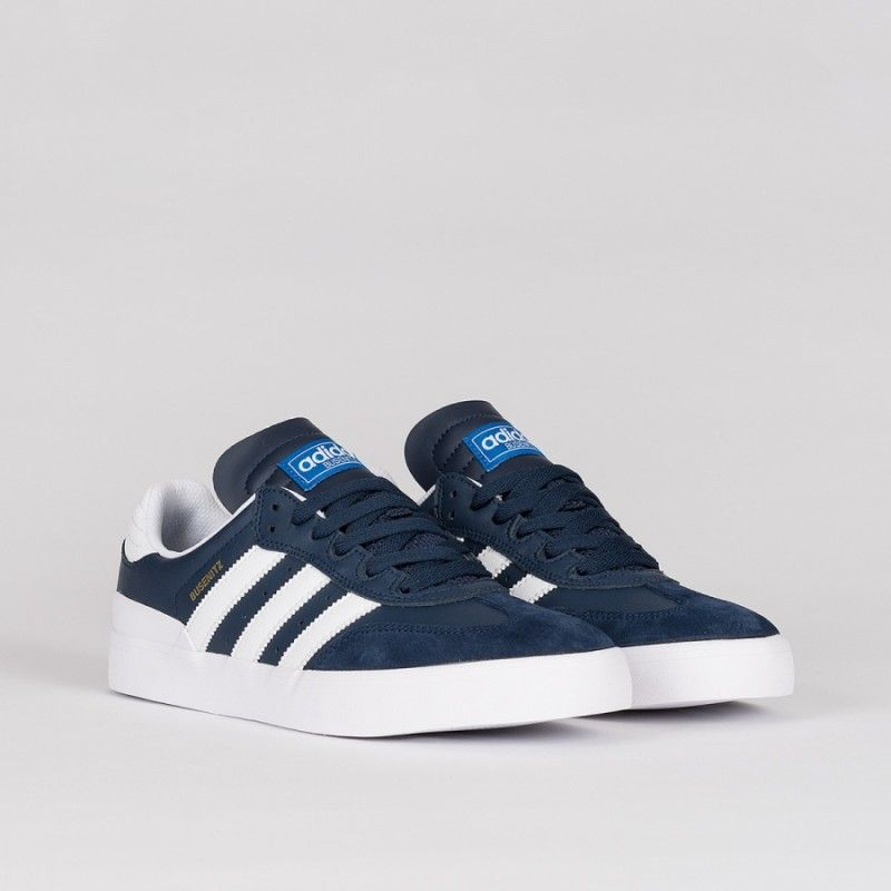 save off ff5b1 e103b Adidas Busenitz Vulc Rx Collegiate Navy White Bluebird