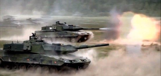 Leopard 2a5 Firing Tanks Military War Tank Military Vehicles The most significant change to the hull of the leopard 2 a5 is the new driver's hatch, which is now electronically operated and slides to the right to open. pinterest