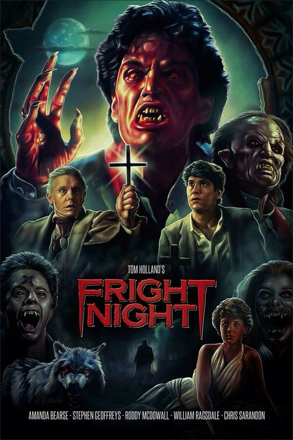 Fright Night 1985 With Images Classic Horror Movies Horror
