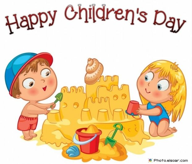 Happy Children S Day With Cartoon Kids Amazing Photos Children