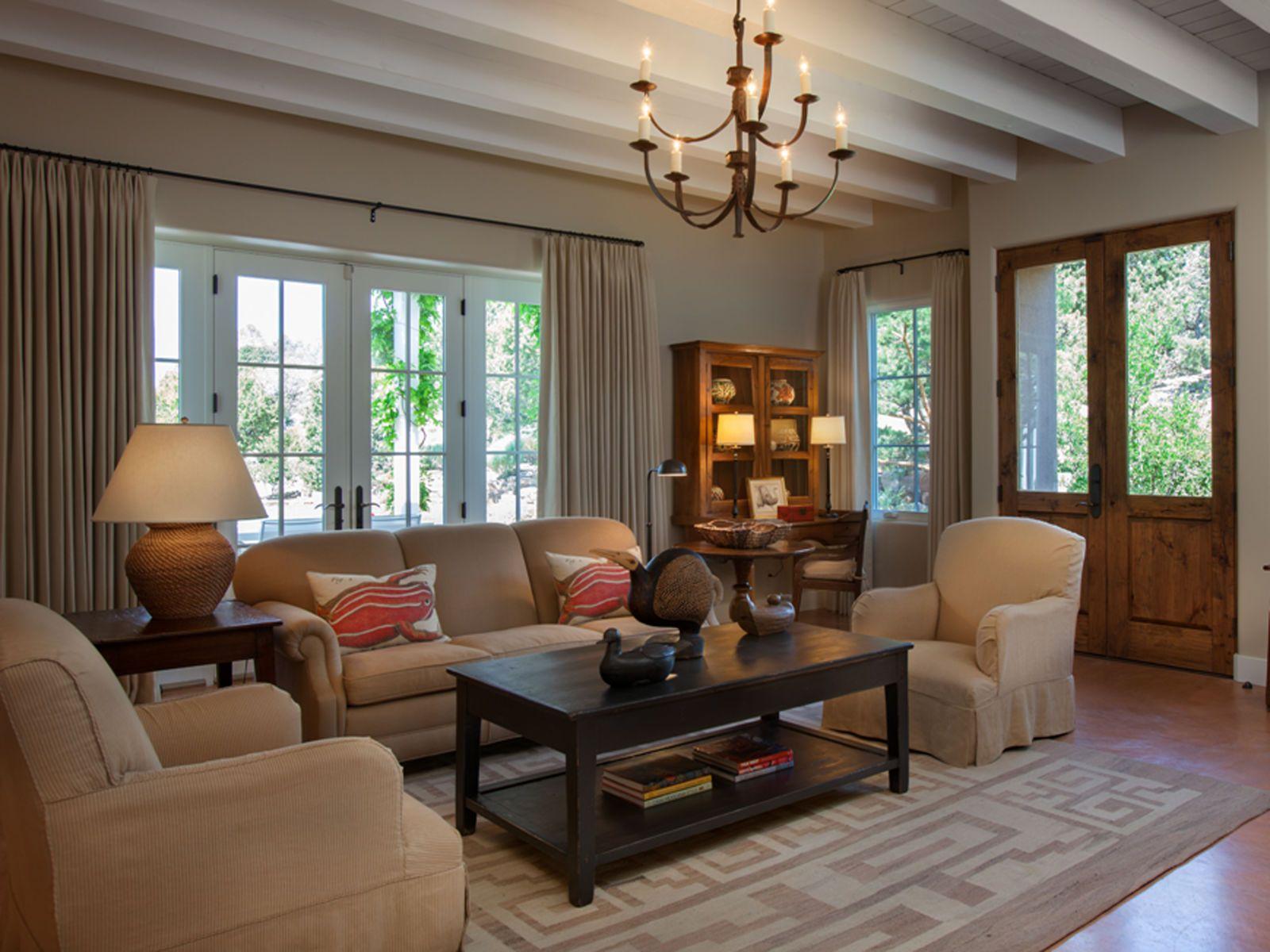 Step Inside A Stunning Adobe Home In Santa Fe Adobe House House Interior Home